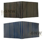 PAUL SMITH LASER CUT STRIPE BILLFOLD WALLET BLACK, BLUE GIFT BOX NEW Was £150.00