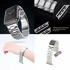 Stainless Steel Strap Classic Buckle Adapter Watch Bands for Apple Watch 38/42mm