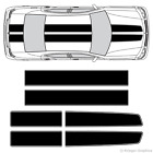 Dodge Charger EZ Rally Racing Stripes 3M Vinyl Stripe Decals Graphics