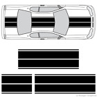 Chevy Monte Carlo Dual Rally Racing Stripes 3M Vinyl Double Stripe Decals