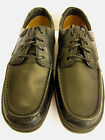 MENS LEATHER LACE UP CASUAL SHOES (CLARKS LINE EDGE)