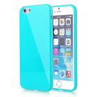 For Apple iPhone 4s 5s 6s se 5c Case Plus Slim Shock TPU Gel Candy Cover