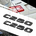 BLACK REAR BOOT TRUNK LETTER EMBLEM BADGE FOR W202 W204 C CLASS C250 AMG SERIES