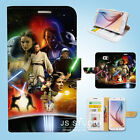 Samsung Galaxy S3 4 5 6 7 8 Edge Plus Note Flip Wallet Case Cover Star Wars W047 $12.99 AUD on eBay