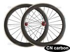 Alloy Brake surface 60mm Clincher carbon bicycle wheels R13 hub+424 spokes