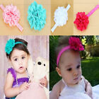 Multi-Colors Lovely Kids Baby Lace Flower Headband Toddler Headwear Accessories