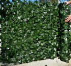 Best Artificial English Ivy Leaf Screening 3m X 1m Hedging Wall Garden Fence New