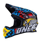 O'Neal Fury Fidlock DH Helmet Evo Wild Full face Downhill BMX MTB ALL SIZES