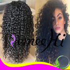 "14"" ~ 22"" Full/Front Lace Wigs Brazilian Remy Human Hair Jerry Curl Density150%"
