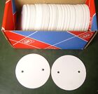 Box of 50 MK White Overlapping Circular Egatube Conduit Junction Box Lid EL2 WHI