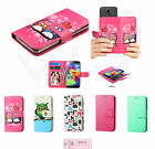 Universal Cell Phone Cover Leather Flip Wallet Case Slide Camera Size 4.0- 4.7