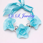 Sweet Beauty Candy Color 3 Flowers Wrap Necklace