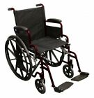 Betterlife Deluxe Puncture Proof Self Propel Wheelchair with Sports Mag Wheels