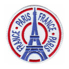 PARIS FRANCE (D) EMBROIDERED PATCH