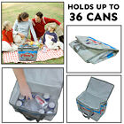 Insulated Cooler Bag Cool Camping Food Storage Box Thermal Travel Picnic Carry