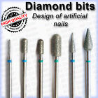 Electric Nail Drill Diamond BITS Fresas Burs for Design artificial nails
