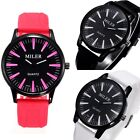 Classic Men Watch Sport  Rubber Strap Bands Quatz Analog NEW Wrist Watch MILER