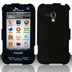 Rubberized Cover Protector Skin Hard Snap-On Case For Samsung Galaxy Rush M830