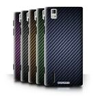Carbon Fibre Effect/Pattern Phone Case/Cover for Huawei Ascend P2
