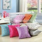 Bed Sofa Throw Pillow Home Decor Case Cushion Cover Square Heart Pattern MPF