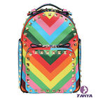 Fashion Handbags Backpack Rainbow Stripe package