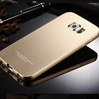 LUXURY Aluminum Pure Metal Bumper Frame Case Cover For Samsung Galaxy S6