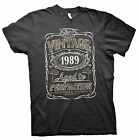 Vintage Aged To Perfection 1989 - Distressed Print - 26th Birthday Gift T-shirt