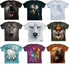 The Mountain Wolf Bear Native American Adult T-Shirt MADE IN USA