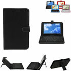 2015 Leather Case Cover with Keyboard Buit-in for Tablet PC Android 7 9 9.710''