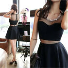 Black  Women Stretch Bandage BodyCon Lace Evening Sexy Party Cocktail MINI Dress