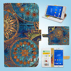 Sony Xperia Z2 Z3 Print Flip Wallet Case Cover Inida Artwork W016