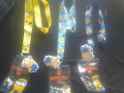 Minion Despicable Me ID Lanyard with fun padded Minion Character - 3 Colours