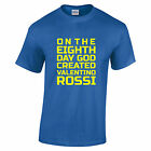 Valentino Rossi 46 The Doctor 8th Day Neon Yellow text t shirt 10 colors