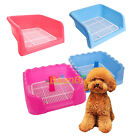 3 Size Indoor Outdoor Dog Puppy Potty Toilet with Tray Pad Pee Pet Training