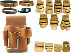 DURACUIR Construction Drywall Leather Tool Pouch Belt Occidental