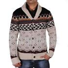 Rock & Revival Lumox Cable Knitted Cardigan  Mens Size