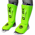 VELO Shin Instep Pads MMA Leg Foot Guards Kick Muay thai Boxing Protector AU