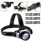 Head Torch Bright Light Lamp Waterproof Emergency Safety Hiking Camping Fishing