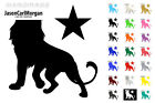 Star Lion Wall Window Art Bedroom Sticker Decal Vehicle Car 21 Colour 3 Size