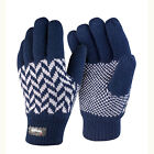 RESULT LINED PATTERNED THINSULATE GLOVES 2 Cols WINTER WARM MENS WOMENS S/M L/XL