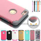 Silicone Shockproof Bumper Matte Rubber Hard Case for Apple iPhone 6 6s 7 Plus
