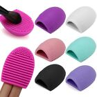 Egg Cleaning Glove MakeUp Washing Brush Scrubber Board Cosmetic Brush