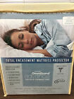 NEW: Utlimate Allergy Mattress Encasement Protector Full Size by FabricTech