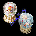 Beautiful & Cute 3D Snow Ball Christmas Cards / Tree Deco, RRP$16