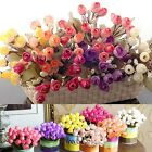 Decoration  Floral Decor Home Wedding Craft Flowers Artificial Silk Rose H