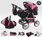 Lux4Kids King Kombi Kinderwagen Set + Babyschale
