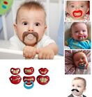 Dummy Dummies Pacifier Novelty Teeth Moustache Baby Child Soother Nipples