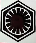 First Order Logo Star Wars Vinyl Sticker Decal home laptop choose size/color $2.49 USD on eBay