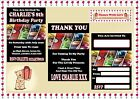 Marvel Superheros  Avengers Party Invitations Personalised thank you cards x 10