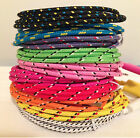 High Quality Braided Colorful Usb Cable Charger Sync Cord For Iphone 7 6 5 Lot 1